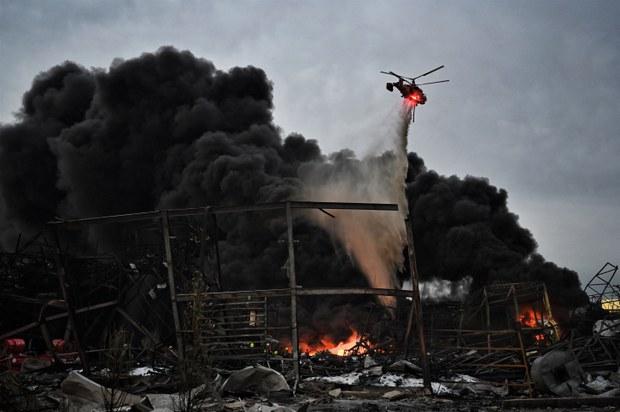 โรงงานหมิงตี้เคมีคอลระเบิดกระทบกว่า 8 หมื่นราย เสียชีวิต 1 ราย